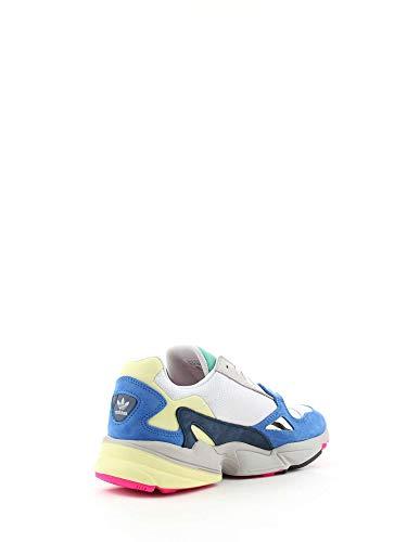 de Ftwbla Falcon 0 Blanc Azul Femme Fitness W Chaussures adidas Ftwbla q0wdBtq