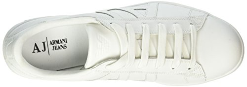 00010 Bianco Emporio Jeans Armani Homme Sneakers 935565cc500 Basses Armani Weiß BBqUz