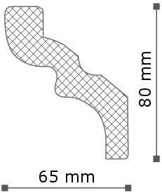 10 Meter Stuckleiste NMC NOMASTYL/® Plus - C