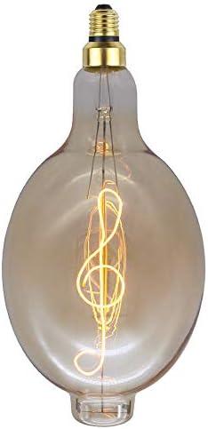 Led Lampen Dekorative Leuchtmittel,Wi-Fi Lampen Energiesparlampenbt180Edison Glühbirne Kreative Lichtquelle Warmes Licht Energiesparlampe