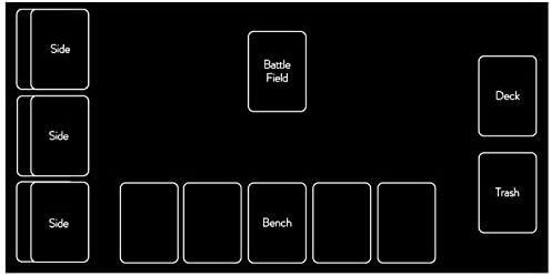 [スポンサー プロダクト]テネセシート シンプル ラバー プレイマット 収納ケース 付き (ポケモンカード)