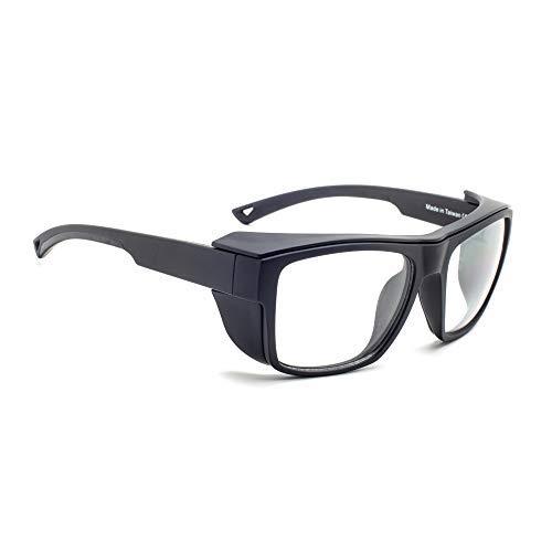 Leaded Glasses Radiation Safety Eyewear RG-X25-BK [並行輸入品]  B07PLDYPY5