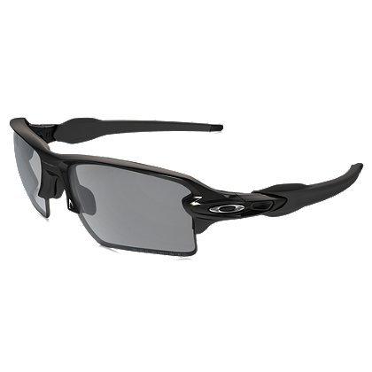 (Oakley FLAK 2.0 XL shooting shades (Matte Black, Grey))