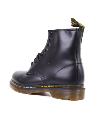 Dr Air Smooth Black Wair Boots Martens Unisex v0wA7qv