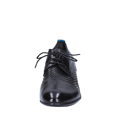 Negro Zapatos Elegantes Moma Cuero Mujer vxIABWWcnO