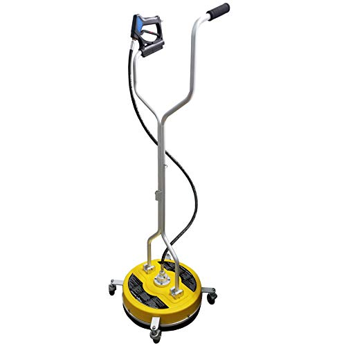 """Ultimate Washer 19"""" Surface Cleaner with castors for Power Pressure Washers, 4000 PSI, 2.5GPM to 8GPM"""