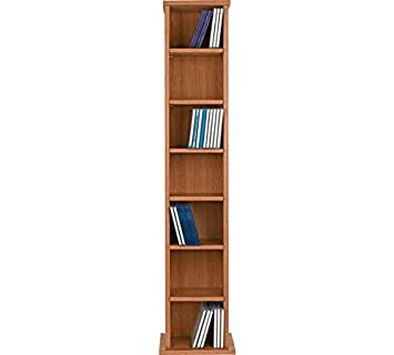 High Quality Maine DVD and CD Media Storage Tower - Oak Effect.  sc 1 st  Amazon UK & High Quality Maine DVD and CD Media Storage Tower - Oak: Amazon.co ...