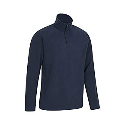 Mountain Warehouse Mens Camber Fleece Top - Lightweight Top, Breathable Sweater, Quick Drying Pullover, Extra… 4