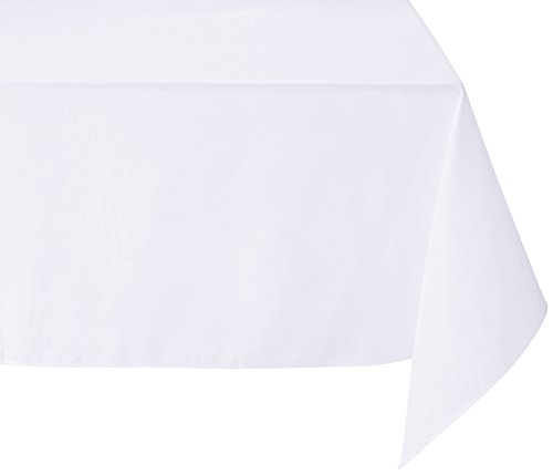 White 8' Table Cover - 8