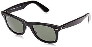 Ray-Ban RB2140 Wayfarer Sunglasses, Black/Green 1, 50 mm (B001GNBJNW) | Amazon price tracker / tracking, Amazon price history charts, Amazon price watches, Amazon price drop alerts