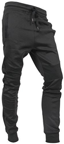 Hat and Beyond Casual Fleece Jogger Pants Active Elastic Urban Biker Slim Fit (X-Large, 5003)]()