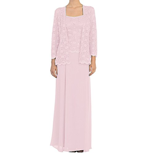 Buy light pink mother of the bride dresses - 6