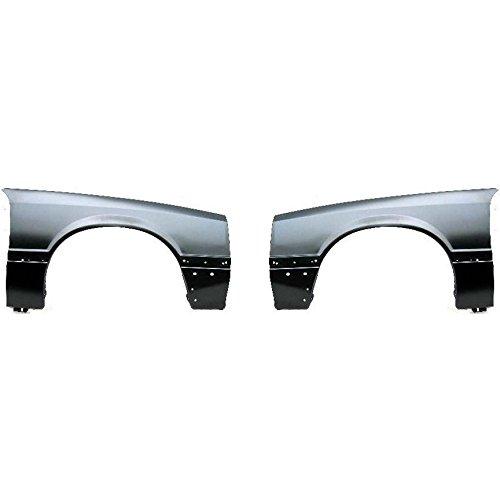 Mustang Rh Quarter - Diften 110-C0056-X01 - New Fenders Front Quarter Panels Set of 2 Left & Right Side LH RH Mustang Pair