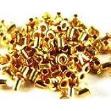 ミニハトメ1.5ミリ ゴールド