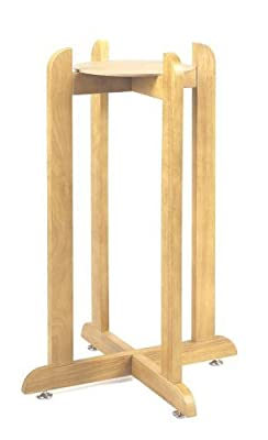 "30"" Natural Hard Wood Floor Stand"