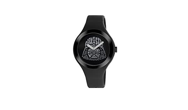 AM: PM Star Wars Darth Vader unisex reloj negro correa de silicona sp161-u383: AM:PM: Amazon.es: Relojes