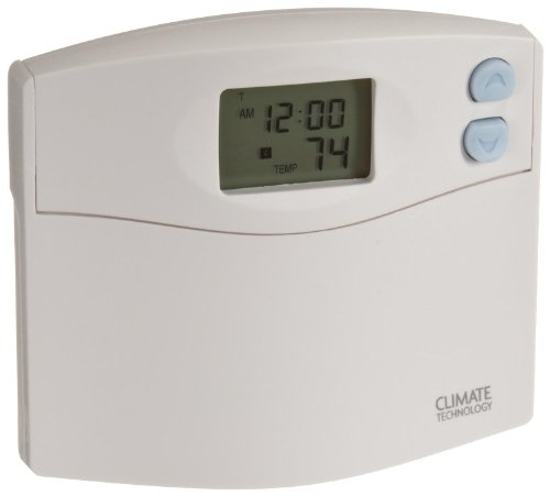 Supco 43154 Programmable Wall Thermostat with Blue Night Light, 45 to 95 Degree F, 20-30 ()