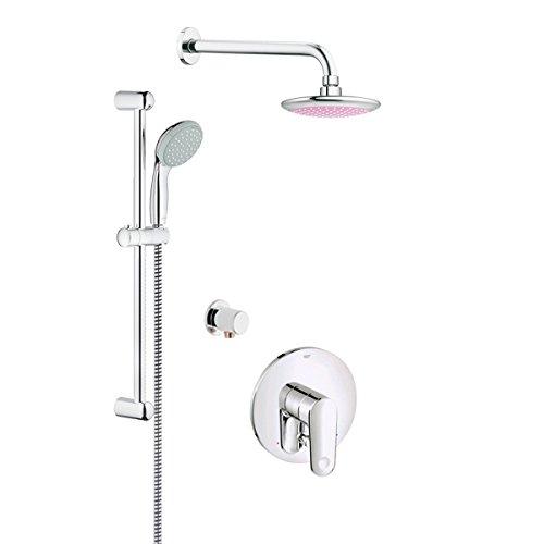 GROHE 123486 Europlus Shower Bundle (Grohe Shower Panel)