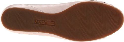 Ecco Womens Ontario Peep Flat Rose Dust