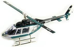 2003 Philadelphia Eagles Bell Jet Diecast Helicopter Limited Edition //2000