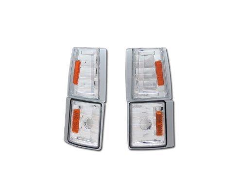 EURO AMBER SIGNAL PARKING CORNER LIGHTS LAMPS K2 94-00 GMC C10 CK C/K PICKUP/SUV