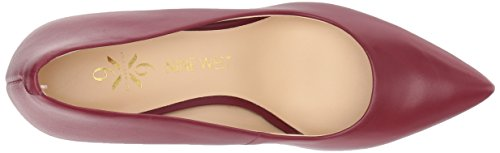 Pumps West Leather Wine Astoria Nine 9X9 Women's T7wqqZ