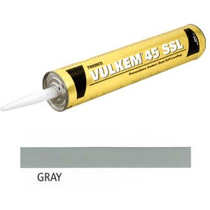 Tremco 45SSL Vulkem Polyurethane Semi-Self Leveling Sealant, Gray