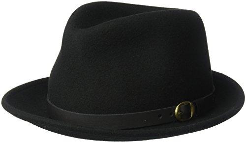 Country Gentleman Men's Wallace Classic Fedora Hat, Black...