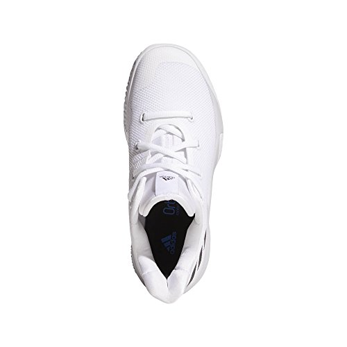 Basketball Negbas Ftwbla adidas 000 Adults' 2 up Rise Unisex K White Shoes Grpulg PPUr7Yz