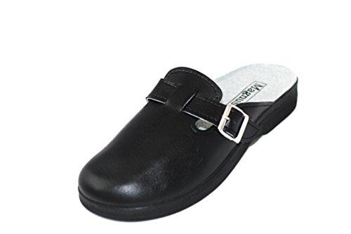 Schlappen Herren Sandale 06 Clogs Hausschuhe Pantoffel Pantolette PP64 gZwwIq