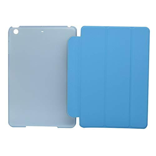 NiceWave Smart Case Cover Stand Protect Ultra Thin Tri-fold for Apple ipad Mini 1/2/3 Office Work Tablet/e-Book Cover Light Blue