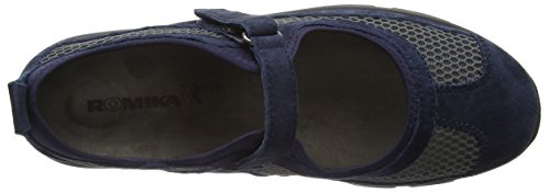 Romika Traveler 02, Women's Mary Jane Blue (Jeans)