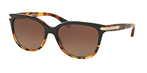 (Coach Womens L109 Sunglasses (HC8132) Tortoise/Brown Acetate - Polarized - 57mm)