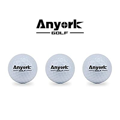 Anyork 3 Recycled Golf Ball 3 Golf Rangefinders Balls