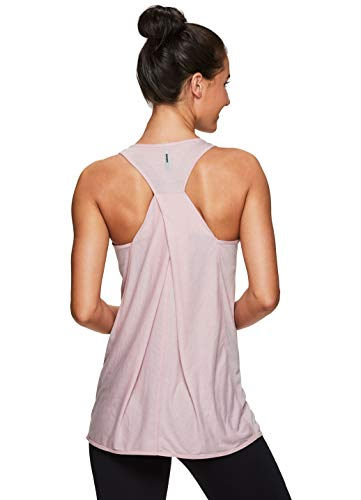 RBX Active Women's Yoga Workout Tank Top S19 Light Pink - Tank Print Top Athletic