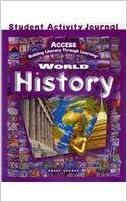 ?DOC? ACCESS World History: Student Activities Journal Grades 5-12. official release Unidad Descubre Veterans
