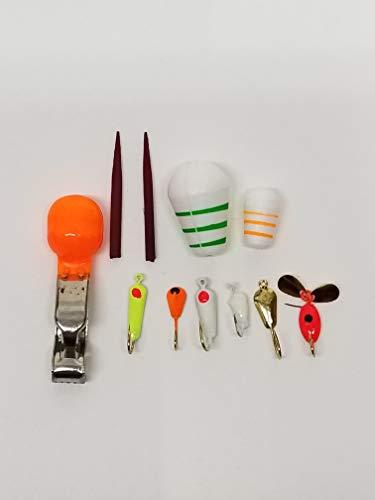 Arnold 9 Piece Ice Fishing Kit