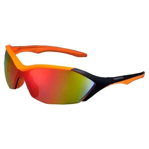 Óculos Shimano S71R-Pl Laranja Neon/preto
