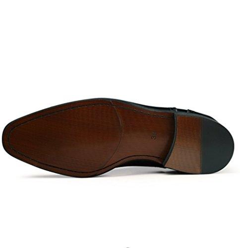 Cuir Chaussures Hommes Chaussures D'automne la de Black Mode de Printemps de Printemps en NBWE Habillées des et PwUSTUx