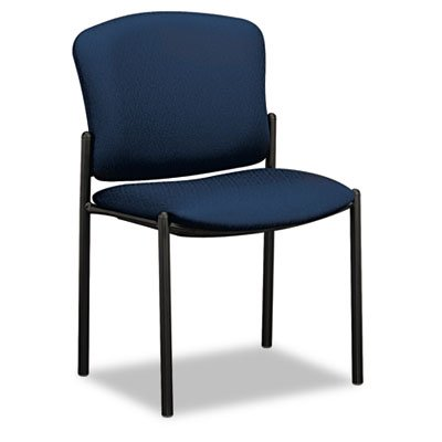 Hon 2-Carton Armless Stacking Chairs, 21-1/4 by 22-1/2 by 33-Inch, Mariner - Hon 530 Series