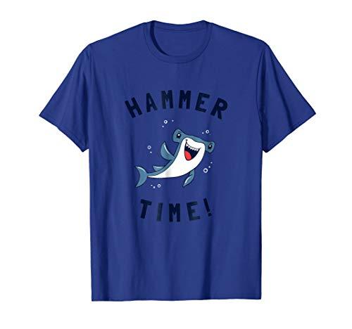 - Hammer Time T-Shirt - Hammerhead Shark Funny Pun