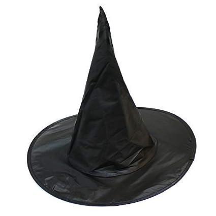 Kids Black Halloween Witch Hat