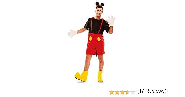 EUROCARNAVALES Disfraz de Ratón para adultos: Amazon.es: Juguetes ...