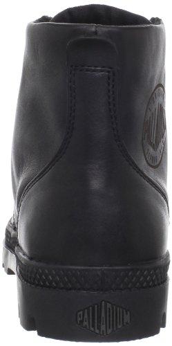 PalladiumPampa Hi Leather - Botines mujer Negro (Schwarz/Black)