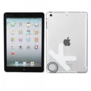 OK Pattern Smooth Plate Back Cover Case for iPad Mini White