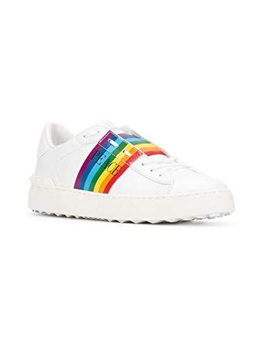 Sneakers Donna Pelle Bianco Valentino Rw2s0781zangu8 0XwOn8PNk
