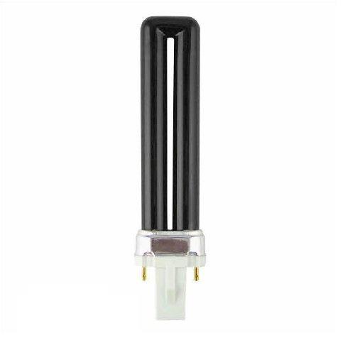 PL-S 5W Compact Fluorescent Blacklight Bulb 5 Watt UVA BLB G23