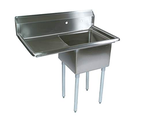 John Boos E Series Stainless Steel Sink, 12