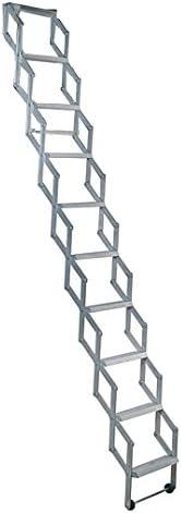 Alufix 1502-006 - Escalera para áticos (tamaño: 11 Tread)