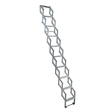 Alufix Ziehharmonika Dachboden Leiter 11 Stufen Ideal Fur Kleine
